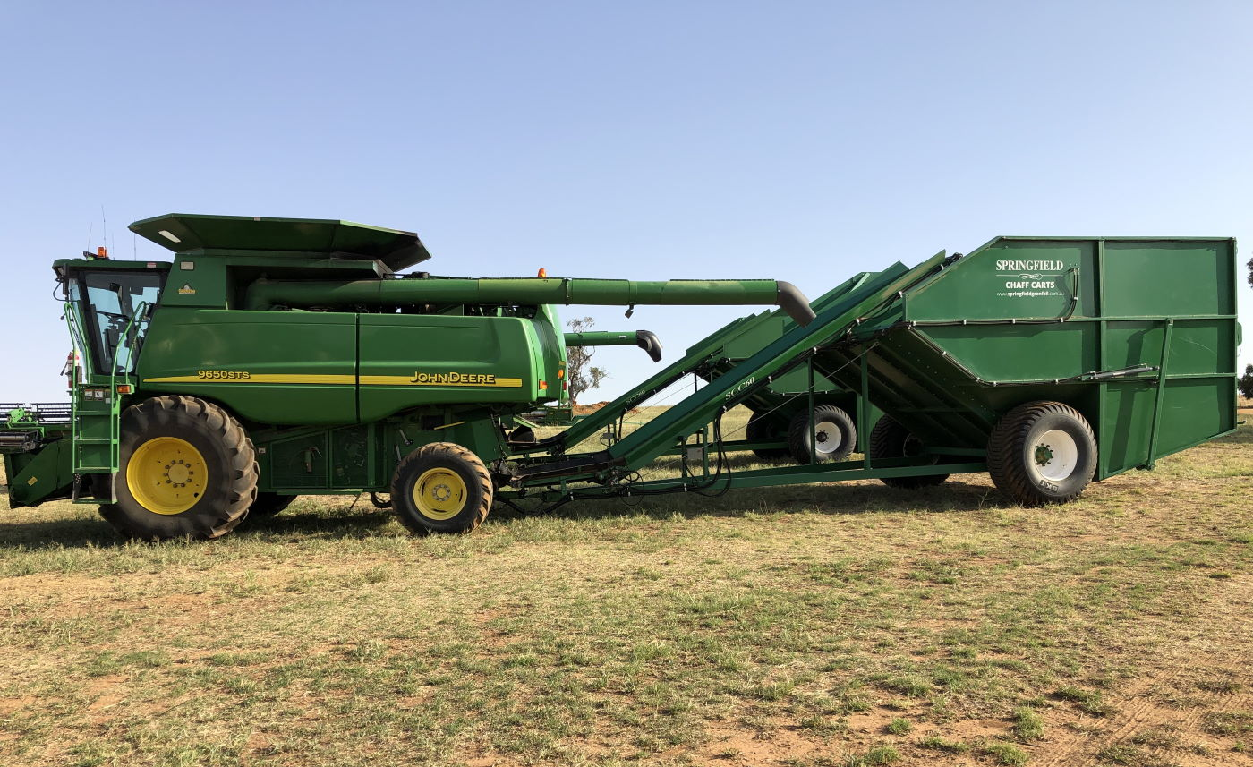 Springfield Grenfell Chaff Carts